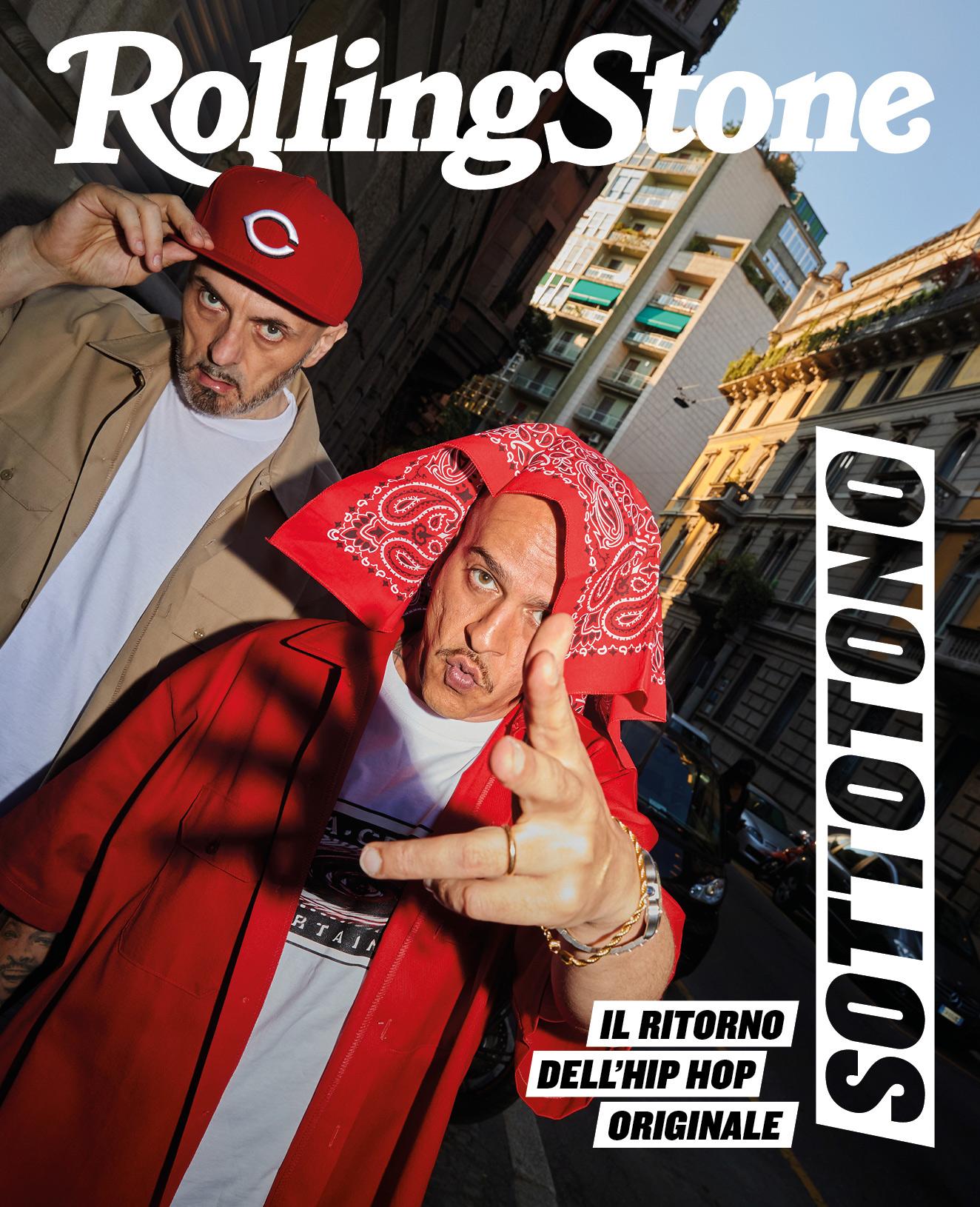 Sottotono digital cover Rolling Stone Italia