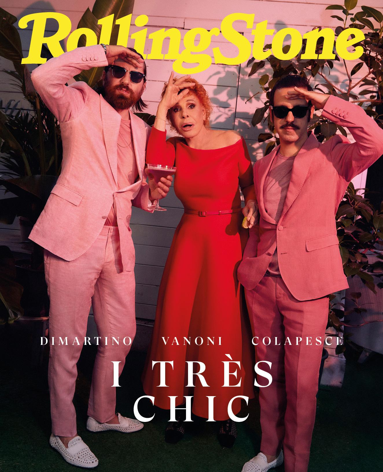 Ornella Vanoni, Colapesce e Dimartino digital cover Rolling Stone Italia