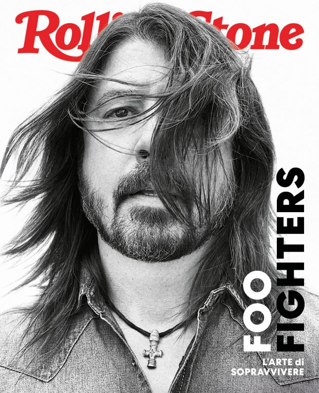 Foo Fighters cover rolling stone italia