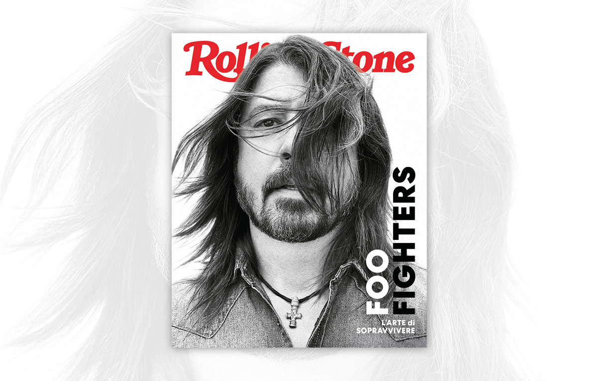 Foo Fighters - cover rolling stone