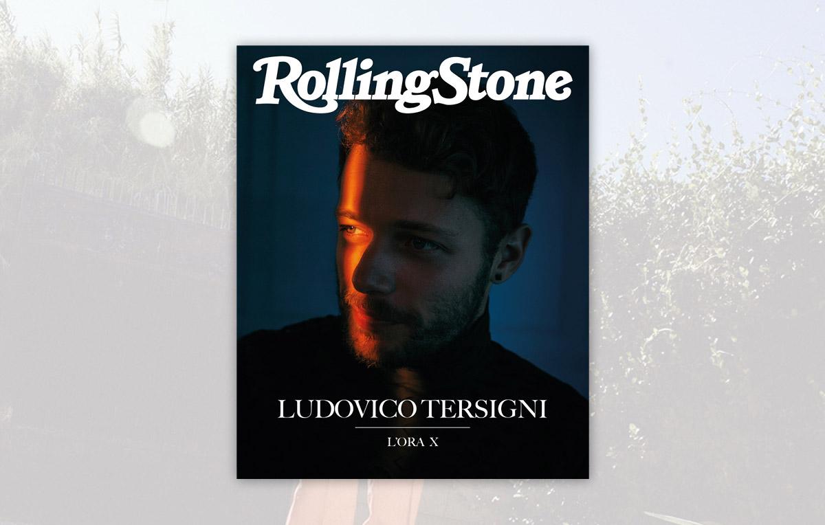 Ludovico Tersigni digital cover Rolling Stone