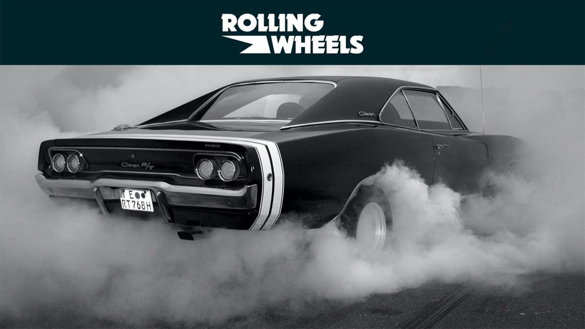 Rolling wheels, rubrica motori di Rolling Stone by carlo mandelli