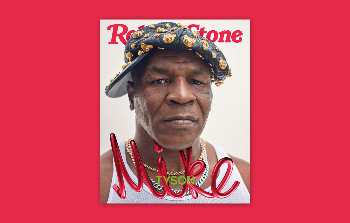 Mike Tyson - Digital cover rolling stone
