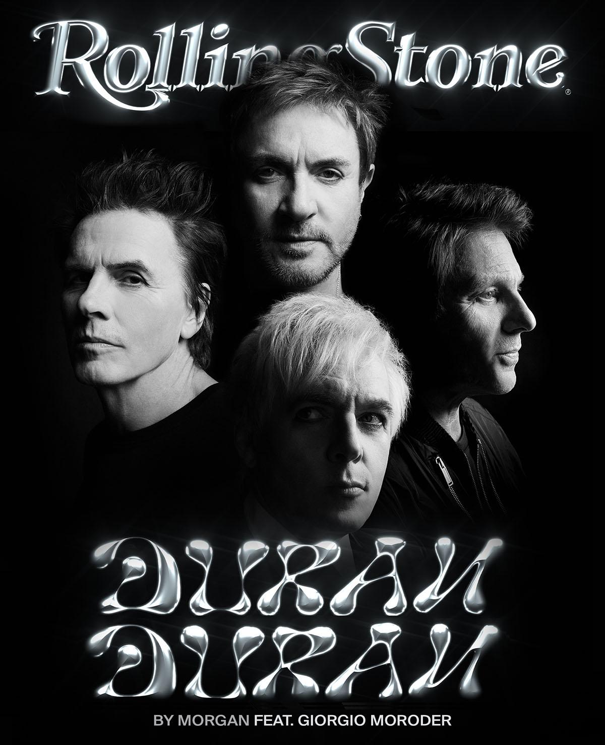 Duran DUran digital cover rolling stone italia